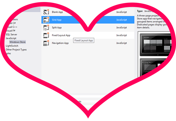 Windows 8 App Romance