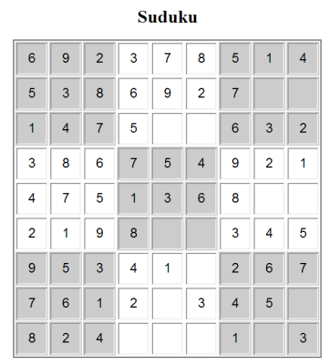 Moriel Schottlender Designing a JavaScript Sudoku Puzzle: An